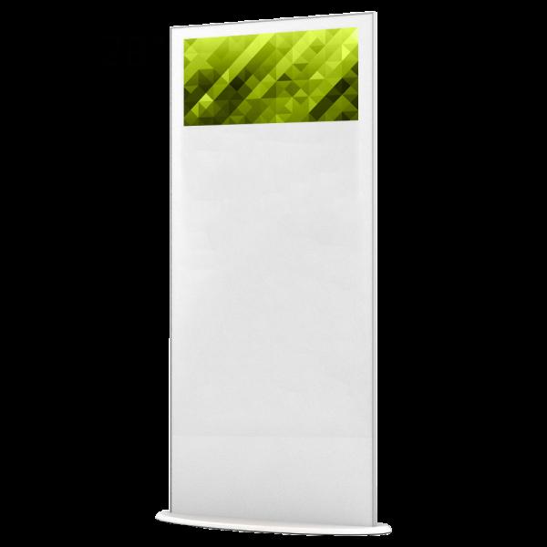 Lamina 28″ – Elektronisk Rollup för inomhusbruk