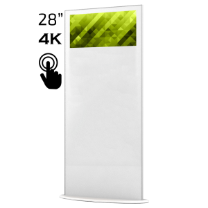 Lamina 28″ Touch – Elektronisk Rollup för inomhusbruk
