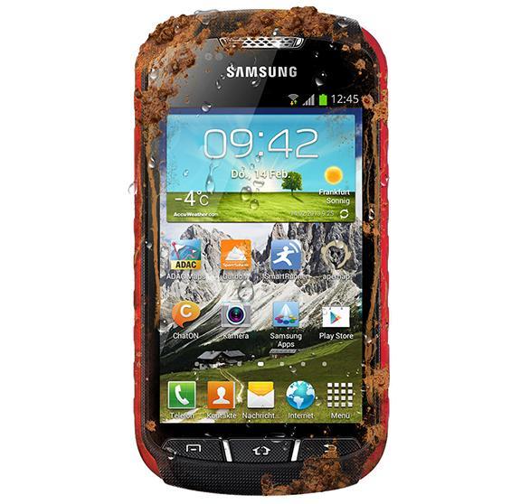 Samsung Galaxy Xcover 2, olåst, silver. Begagnad (B-Grade)
