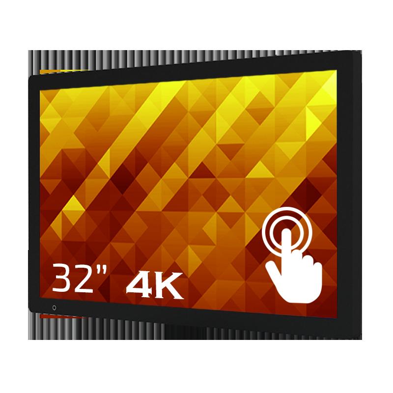 GoDisplay Digital skylt 32″ 4K – Touch
