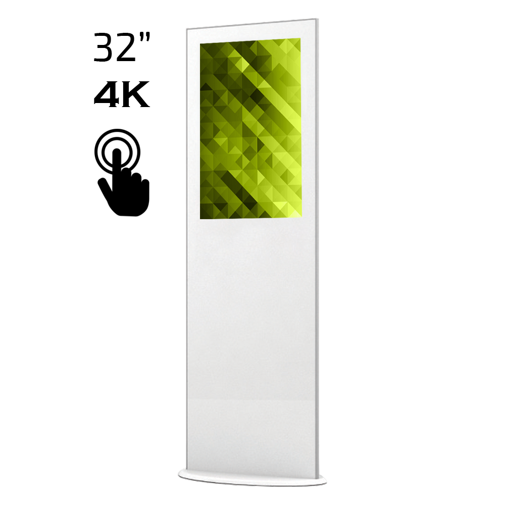 Lamina 32″ Touch – Elektronisk Rollup för inomhusbruk