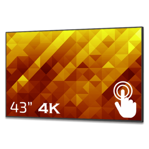 GoDisplay Digital skylt 43″ 4K – Touch